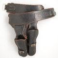 Arms Accessories:Holsters, Buscadero Single Action Double Gun Rig....