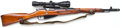 Long Guns:Bolt Action, *Russian Mosin-Nagant Bolt Action Rifle.....