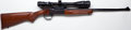 Long Guns:Single Shot, **.243 Win. Thompson/Center Hunter Rifle Model Single Shot Riflewith Telescopic Sight....