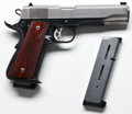 Handguns:Semiautomatic Pistol, **Cased Custom Mark IV Series '70 Two-Tone Colt Government 1911Semi-Automatic Pistol....