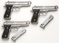 Handguns:Semiautomatic Pistol, **Beretta Lot of Three (3) Consecutively Numbered Model 92FS 9mmSemi-Automatic Pistols....