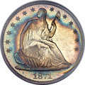 Proof Seated Half Dollars, 1871 50C PR66 PCGS....