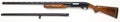 Shotgun:Slide Action, **12 Gauge Remington Model 870LH Magnum Wingmaster Slide ActionShotgun with Extra Barrel....