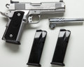 Handguns:Semiautomatic Pistol, **Cased Para Ordnance P13-45 Limited Semi-Automatic Pistol Togetherwith Two Extra Magazines....
