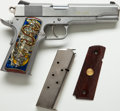 Handguns:Semiautomatic Pistol, **Cased Para Ordnance 7.45 LDA Semi-Automatic Pistol Together withExtra Grips and Magazine....