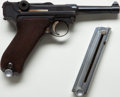 Handguns:Semiautomatic Pistol, *DWM Model P-08 Luger Semi-Automatic Pistol together with Extra Magazine....