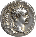 Ancients:Roman Imperial, Ancients: Tiberius (AD 14-37). AR denarius (3.87 gm). ...