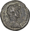 Ancients:Roman Provincial , Ancients: ROMAN EGYPT. Hadrian (AD 117-138). BI tetradrachm (13.30gm). ...