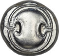 Ancients:Greek, Ancients: Thebes. Ca. 395-338 BC. AR stater (12.23 gm). ...