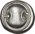 Ancients:Greek, Ancients: Thebes. Ca. 395-338 BC. AR stater (12.21 gm). . ...