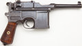 Handguns:Semiautomatic Pistol, *Mauser Late Post-War Bolo Model 1896 Broomhandle Semi-AutomaticPistol....