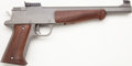 Handguns:Target / Single Shot Pistol, **Wichita International Single-Shot Pistol....