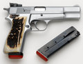 Handguns:Semiautomatic Pistol, **Browning Hi-Power Semi-Automatic Pistol....