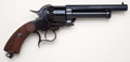 Handguns:Single Action Revolver, Reproduction First Model LeMat Percussion Revolver by Navy Arms....