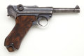 Handguns:Semiautomatic Pistol, *German Model P-08 Parabellum Semi-Automatic Pistol....