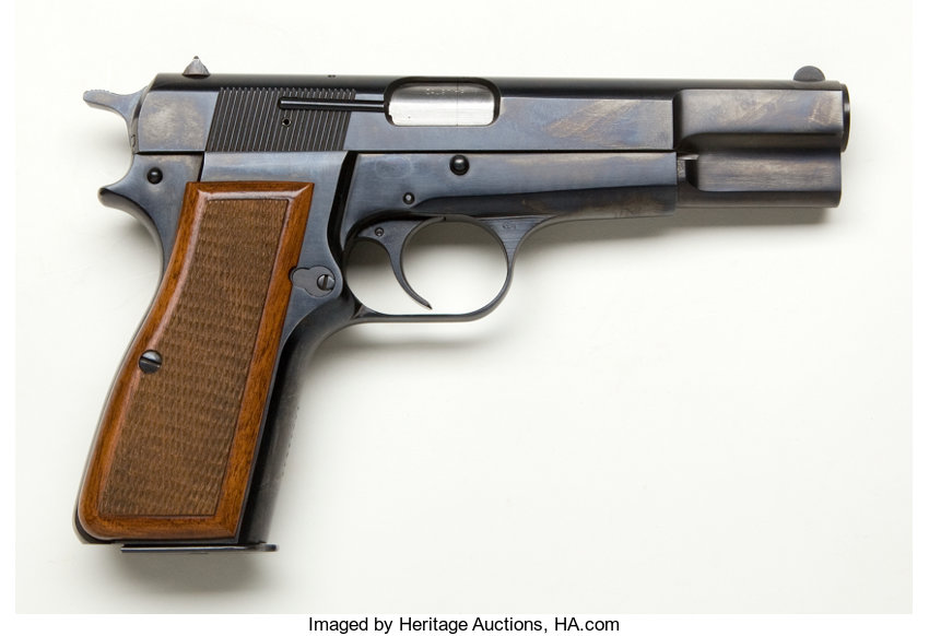 Browning Hi-Power Model Belgium Semi-Automatic Pistol