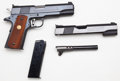 Handguns:Semiautomatic Pistol, **Colt Model MKIV Series 70 Gold Cup National Match Semi-Automatic Pistol with Boxed .22 Slide Conversion Kit....
