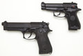Handguns:Semiautomatic Pistol, **Beretta Lot - Models 85F .380 & 92F 9mm Semi-Automatic Pistols....