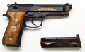 Handguns:Semiautomatic Pistol, **Beretta Lot (2)-M9 Limited Edition 9mm Semi-Automatic Pistolw/Display Case....