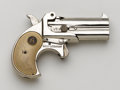 Handguns:Derringer, Palm, **Boxed World Arms Over & Under Derringer....