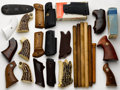 Arms Accessories:Tools, Lot of Assorted Grips and Parts....