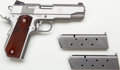 "Handguns:Semiautomatic Pistol, **Cased Dan Wesson ""Patriot"" Semi-Automatic Pistol with Two Extra Magazines...."