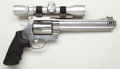Handguns:Double Action Revolver, **Smith & Wesson Model 460XVR Double Action Revolver with Bushnell Telescopic Sight....
