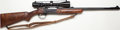 Long Guns:Single Shot, **.375 H&H Mag. Thompson/Center Hunter Rifle Model Single ShotRifle with Telescopic Sight....