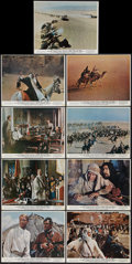 "Movie Posters:Academy Award Winners, Lawrence of Arabia (Columbia, R-1971). Color Photos (9) (8"" X 10""). Academy Award Winners.. ... (Total: 9 Items)"