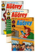 Silver Age (1956-1969):Humor, Playful Little Audrey File Copy Short Box Group (Harvey, 1965-76) Condition: Average NM-....