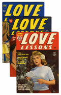 Golden Age (1938-1955):Romance, Love Lessons/Love Stories of Mary Worth File Copies Group (Harvey,0) Condition: Average VF.... (Total: 10 Comic Books)
