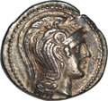 Ancients:Greek, Ancients: Athens. Ca. 118/7 BC. New Style tetradrachm (16.86 gm)....