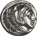 Ancients:Greek, Ancients: Alexander III the Great (336-323 BC). AR tetradrachm(17.31 gm). ...