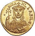 Ancients:Byzantine, Ancients: Michael I Rhangabe and Theophylactus (AD 811-813). AVsolidus (4.45 gm). ...