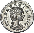 Ancients:Roman Imperial, Ancients: Julia Paula, first wife of Elagabalus (AD 218-219). ARdenarius (3.26 gm). ...