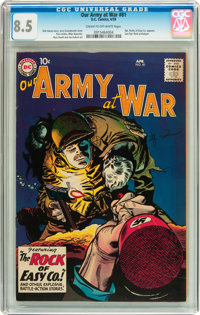 Our Army at War #81 (DC, 1959) CGC VF+ 8.5 Cream to off-white pages