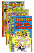 Bronze Age (1970-1979):Cartoon Character, Richie Rich and His Girlfriends #1-16 File Copy Group (Harvey,1979-82) Condition: Average NM-.... (Total: 36 Comic Books)