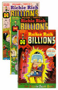 Bronze Age (1970-1979):Cartoon Character, Richie Rich Billions File Copy Group (Harvey, 1974-82) Condition: Average NM-.... (Total: 92 Comic Books)