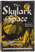 Books:Science Fiction & Fantasy, Edward E. Smith, Ph.D. The Skylark of Space. New York: F. F. F. Publishers, [1950]. Third edition. With a warm...