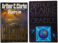 Books:Science Fiction & Fantasy, Arthur C. Clarke & Gentry Lee. Two Signed First Editions of Cradle, including: [New York]: Warner Books, [1988].... (Total: 2 Items)