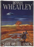 Books:Science Fiction & Fantasy, Dennis Wheatley. Star of Ill-Omen. London: Hutchinson, [1952]. First British edition. Inscribed and signed by ...
