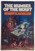 Books:Science Fiction & Fantasy, Robert A. Heinlein. The Number of the Beast. Illustrated byRichard M. Powers. New York: Fawcett Columbine, [198...