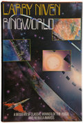 Books:Signed Editions, Larry Niven. Ringworld. New York: Holt, Rinehart andWinston, 1977. First hardcover edition. Playfully inscrib...