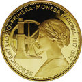 Chile: , Chile: Republic gold 100 Pesos 1968, KM185, choice cameo Proof,struck to celebrate the 150th anniversary of the first nationalcoi...
