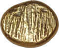 Ancients:Greek, Ancients: Uncertain mint. Ca. 670-660 BC. EL hemistater (7.13 gm)....