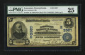 National Bank Notes:Pennsylvania, Lancaster, PA - $5 1902 Plain Back Fr. 598 The Northern NB Ch. #(E)3367. ...