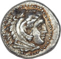 Ancients:Greek, Ancients: Alexander III the Great (336-323 BC). AR drachm (4.19gm). ...