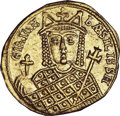 Ancients:Byzantine, Ancients: Irene as sole ruler (AD 797-802). AV solidus (4.47 gm)....