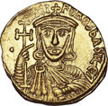 Ancients:Byzantine, Ancients: Nicephorus I and Stauracius (AD 802-811). AV solidus(4.41 gm). ...