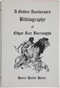 Books:Signed Editions, [Edgar Rice Burroughs]. Henry Hardy Heins. A Golden Anniversary Bibliography of Edgar Rice Burroughs. West Kingston, Rhode I...